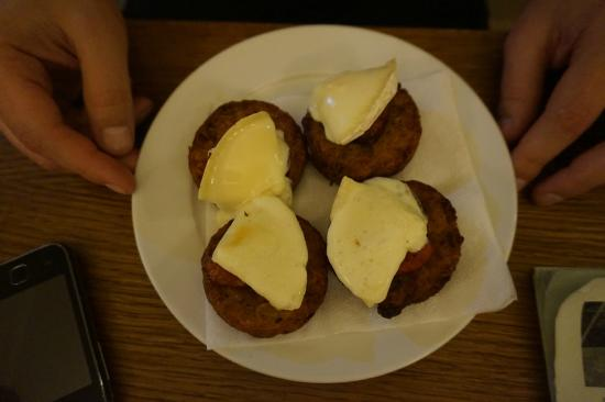 Rakovnik, Tsjekkia: Potato pancake