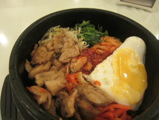 Korea Garden Restaurant : delicious bibimbap