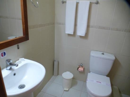 Islazul Villa El Bosque: The washroom to my room