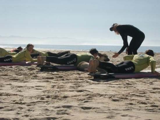 Wavecrest Surf School : A picture from my lessons 2006