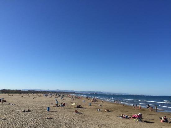 Playa de la Malvarrosa: Fantastica!!!