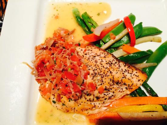 Harvest Grill: Delightful Salmon Special