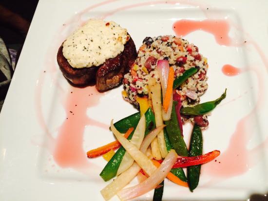 Harvest Grill: Superb filet steak