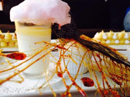 Tarte au citron meringu e glace lait d 39 amande et panna for Le saint sauvage toulouse