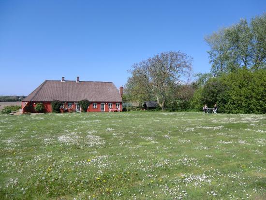 Kimberleys Minde: Huset set fra haven