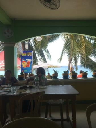 White Beach Resort : WBR Restaurant View