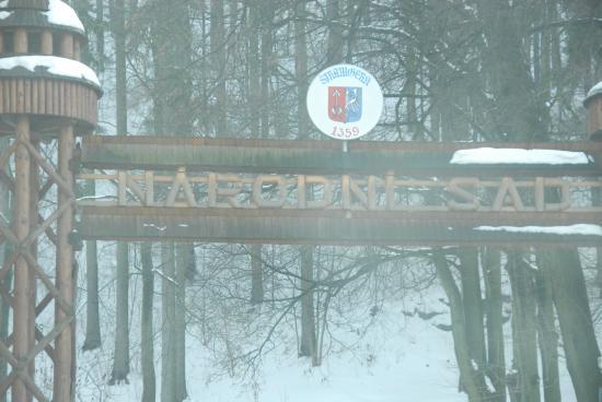 Stramberk, Tschechien: Brama - wejście na szlak do jaskini