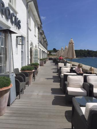 St Mawes, UK: Ideal Lunch Venue