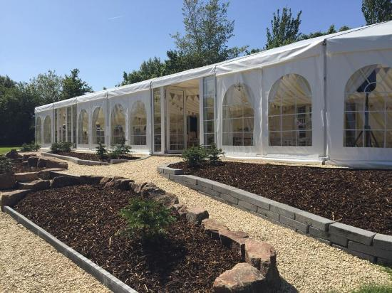 Colliters Brook Farm: Inside the Marquee