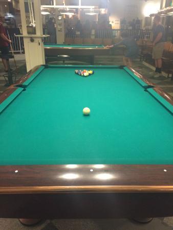 Greenleafu0027s Pool Room: Pool Table