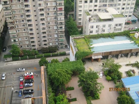 Ibis Hotel Chengdu Kehua : view from Hotel