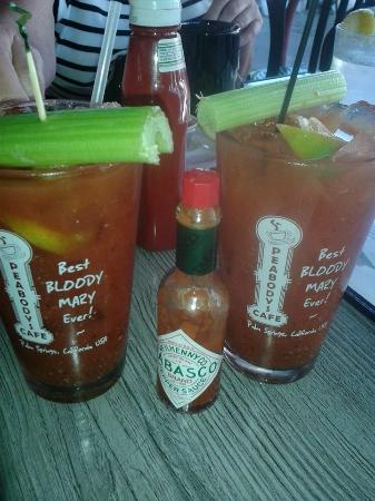 Peabody's Coffee Bar: Bloody MAry kind of morning