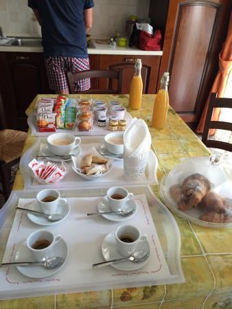 Colazione meravigliosa foto di bed breakfast amati for Hotel amati riccione prezzi