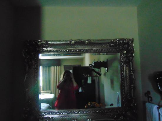 Inn at Mulberry Grove: the room mirror