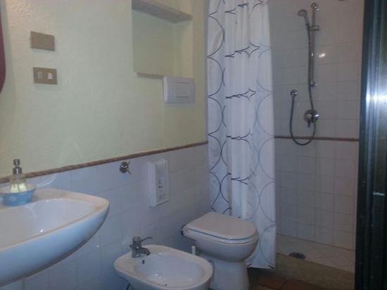 Hotel Villa Medici: Il bagno
