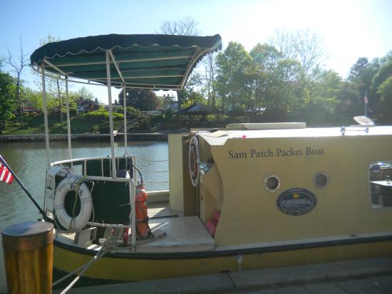 Sam Patch Erie Canal tour: Sam Patch