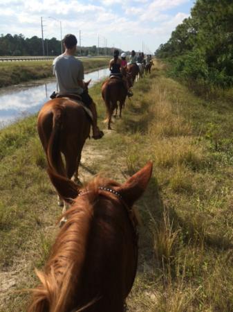 Pelham, جورجيا: Trail rides