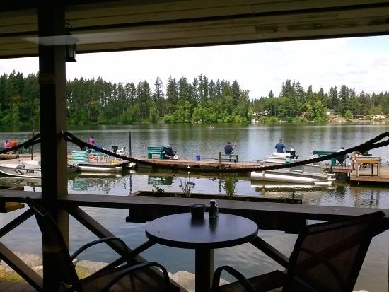 The Lady of the Lake: lake view