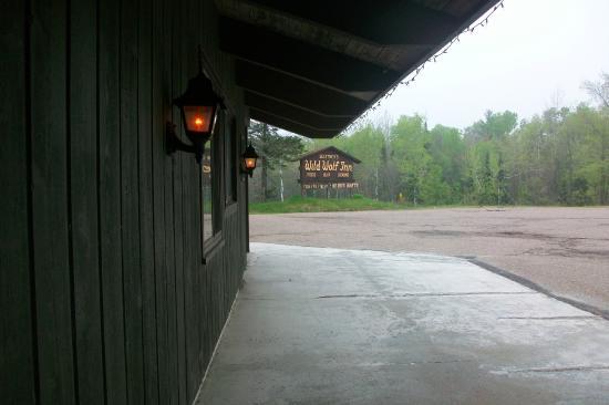 Buettner's Wild Wolf Inn : Welcoming facade