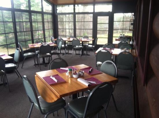 Aurora Borealis Restaurant Porch View