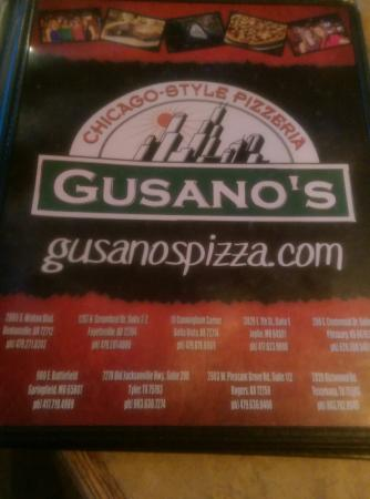 Gusanos Pizza