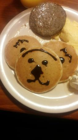 Flapjack's Pancake Cabin: Sunshine made these for my son. She was great. Ask for her.