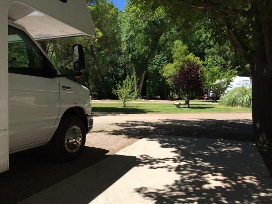 Lo Lo Mai Springs: RV campsite