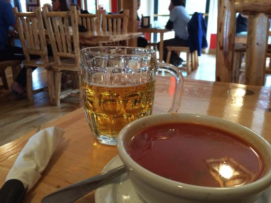 Bill Peyto's Cafe: You can always count on a reasonably priced pasta, soup and beer pint here after a long day of h