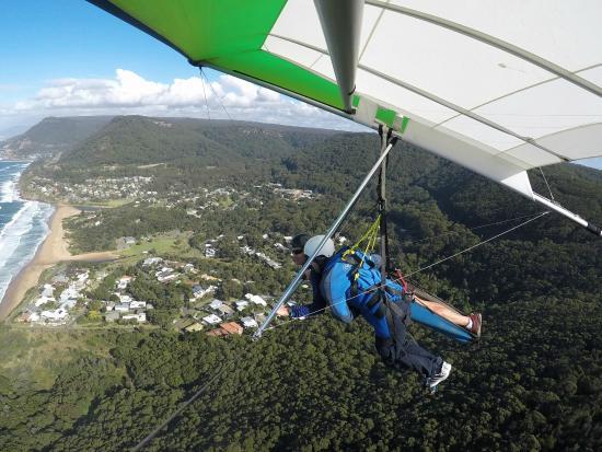 Stanwell Park, أستراليا: Hang Gliding