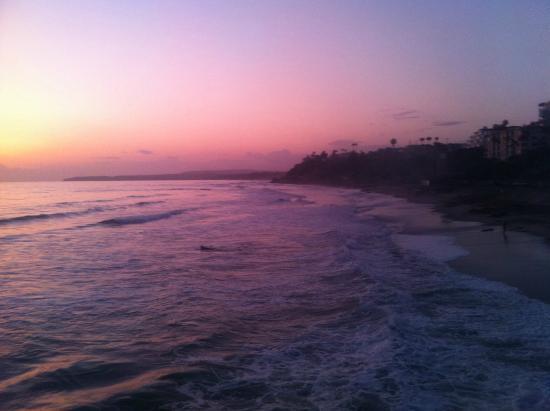 Por do sol em San Clemente