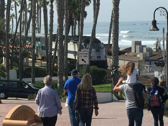 San Clemente, CA: Trem passando