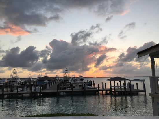 Romora Bay: Sonnenuntergang