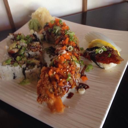 Momo Sushi Kelowna: Was pretty good. Not a bad price too