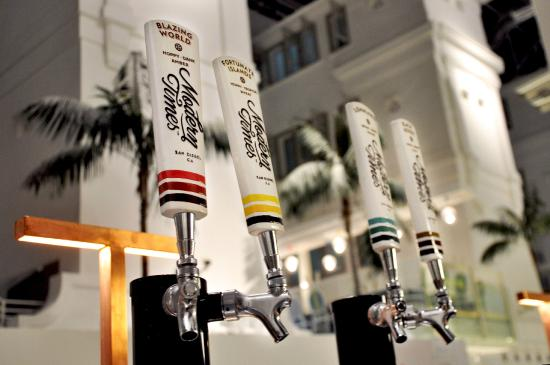 TAP Craft Beer Bar Has 20 Beers On Tap Including Modern Times Brewery.
