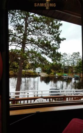 Chanticleer Inn: view from dining room.
