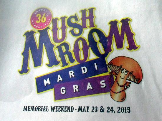 Mushroom Mardis Gras