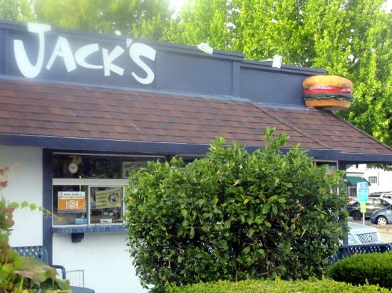 Jack's Hamburgers, Downtown Area, Santa Cruz, Ca