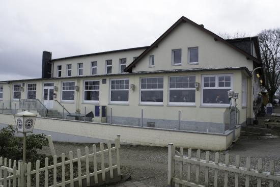 Strandhotel Steinberghaff: Hotellet set fra strandsiden