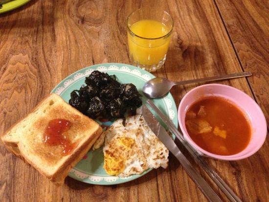 Khaosan Seoul Insadong: 早餐