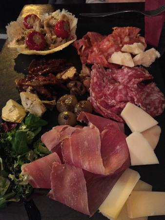 Bar Italia Brasserie : Antipasti à partager en entrée