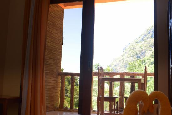 Jurias Pension: View from the room