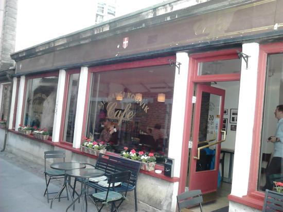 Saiakangi Kohvik Cafe Wecken Gang: вид с улицы