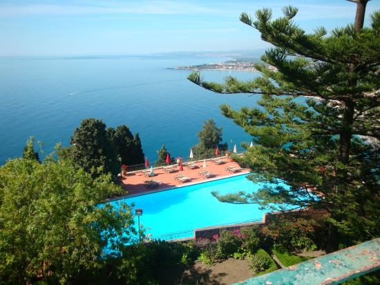 La piscine picture of hotel villa diodoro taormina for La piscine review