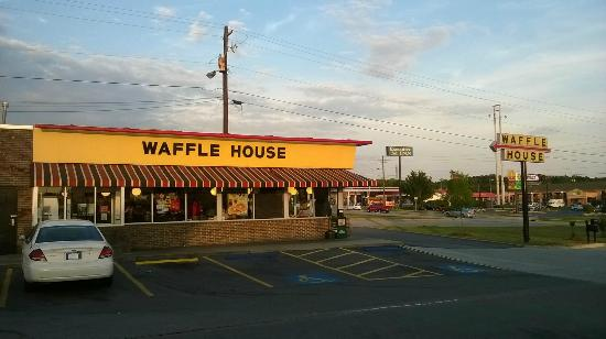 Sunset Over Waffle House Near Tanger Outlet
