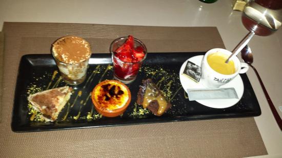 Un Super Café Gourmand Picture Of La Terrasse Du Chateau