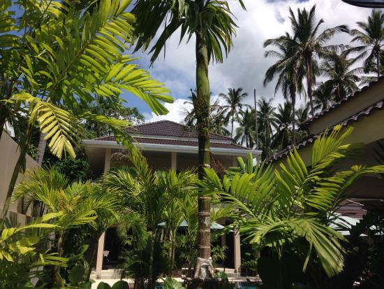 Baan Sawan Samui Resort: jardin de l'hôtel