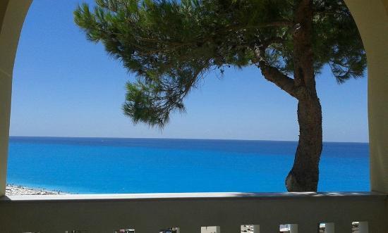 Hotel Sirios Kathisma: Dalla nostra stanza...