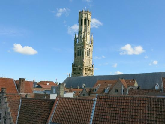 Sint Niklaas B & B: The Belfort Tower from bedroom