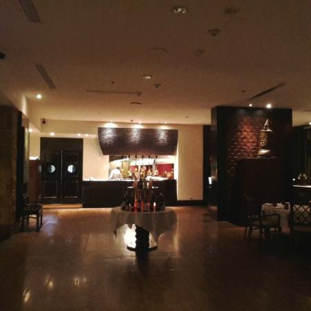 Restaurant Area at Spices in the JW Marriott Mumbai