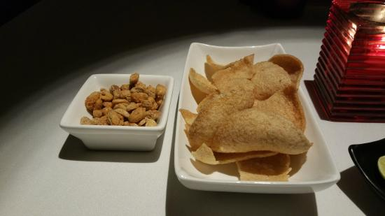 Gratis Starters at Spices in the JW Marriott Mumbai